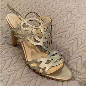 Isola gold shoes